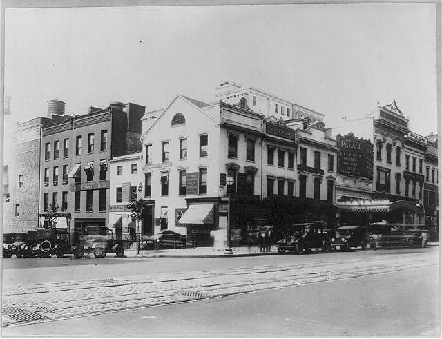 16 x 20 Reprinted Old Photo ofD.C. Washington. Streets. 13th and F Streets, N.W. 1919 National Photo Co  83a
