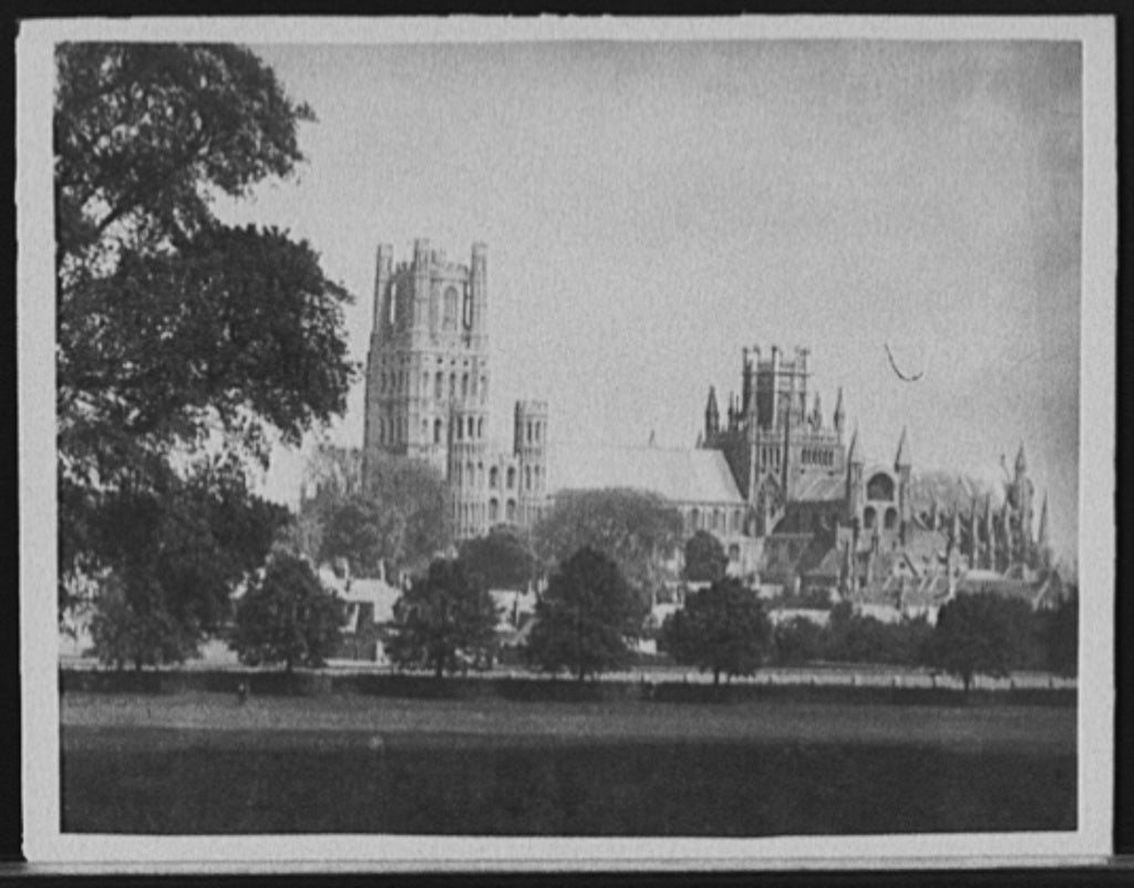 16 x 20 Gallery Wrapped Frame Art Canvas Print of Ely Cathedral Cambridgeshire England 1905 Detriot Publishing co.  22a