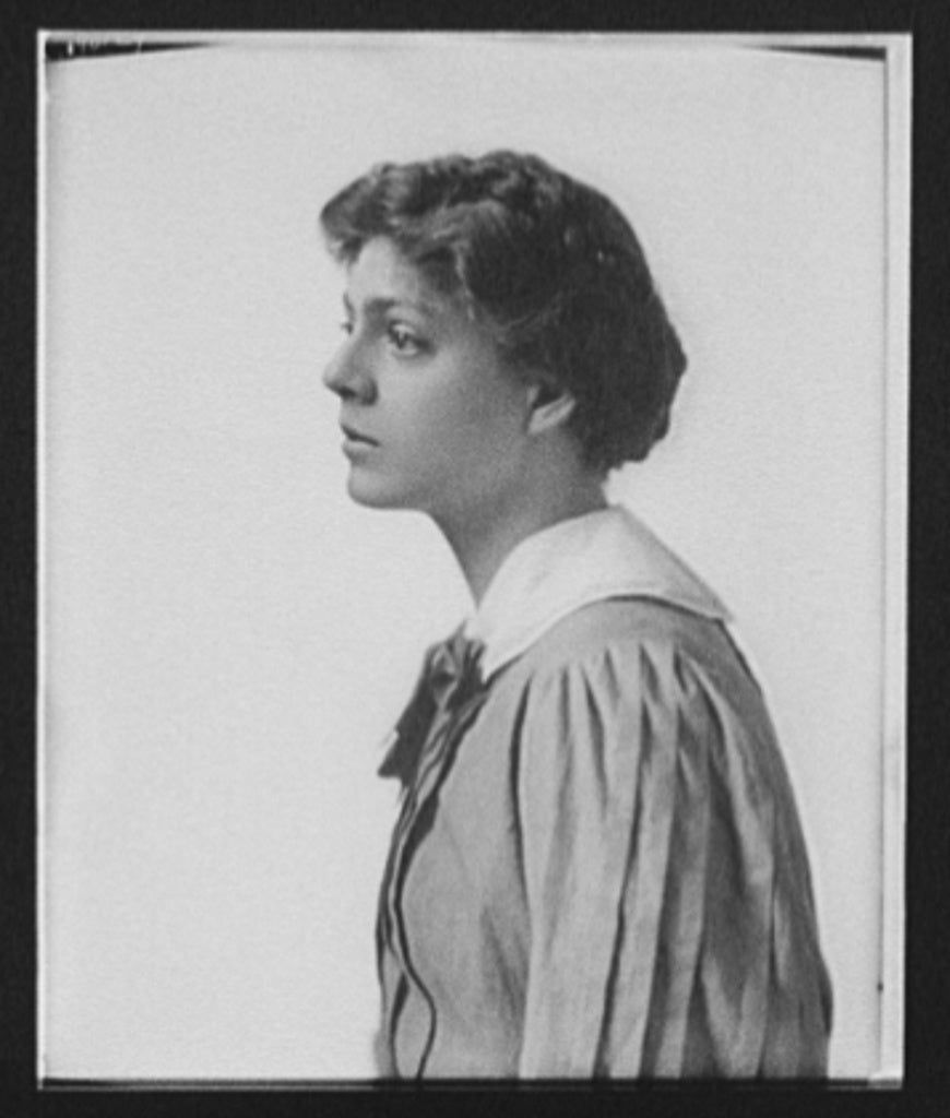 16 x 20 Gallery Wrapped Frame Art Canvas Print of Ethel Barrymore half-length portrait profile facing left 1904 Detriot Publishing co.  17a