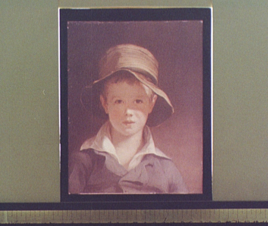 16 x 20 Gallery Wrapped Frame Art Canvas Print of The torn hat 1906 Detriot Publishing co.  22a