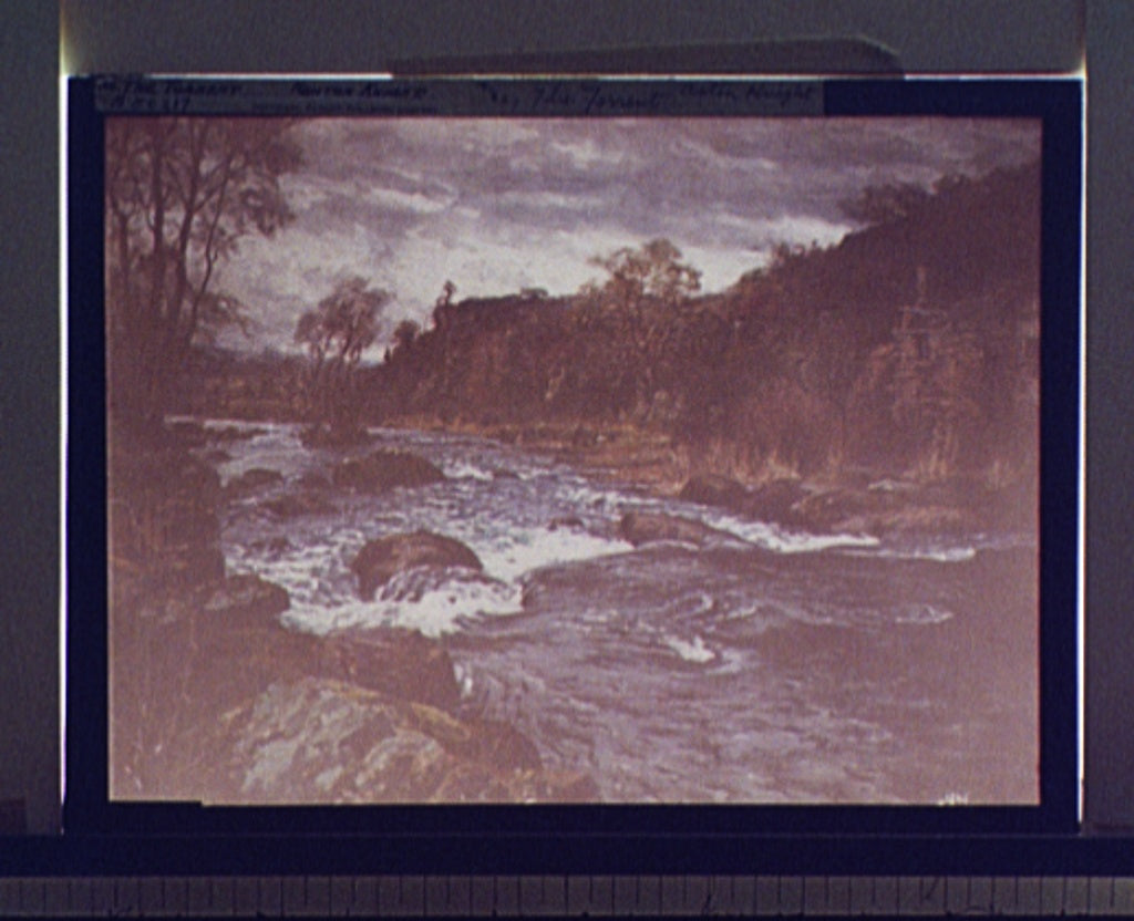 16 x 20 Gallery Wrapped Frame Art Canvas Print of The torrent 1906 Detriot Publishing co.  22a