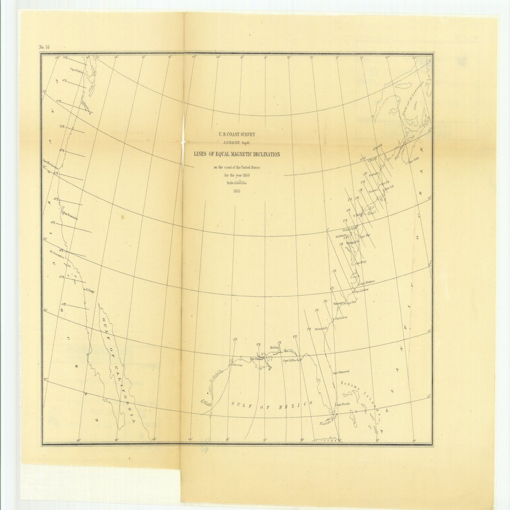 18 x 24 inch 1880 US old nautical map drawing chart of Chart Showing Longitude Stations and Connections Determined by Means of the Electric Telegraph Between 1846 and 1878 From  US Coast & Geodetic Survey x80