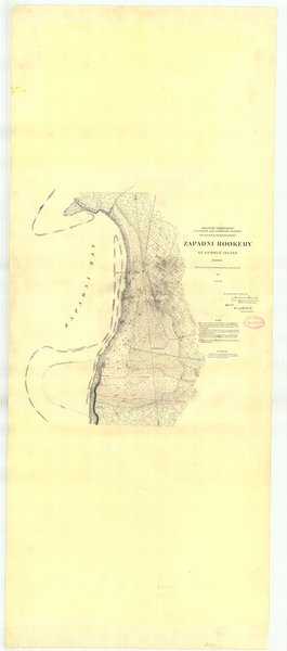 18 x 24 inch 1897 US old nautical map drawing chart of Zapadni Rookery St. George Island From  US Coast & Geodetic Survey x227