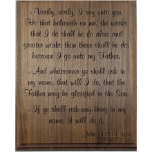 Inspirational Wood Plaque