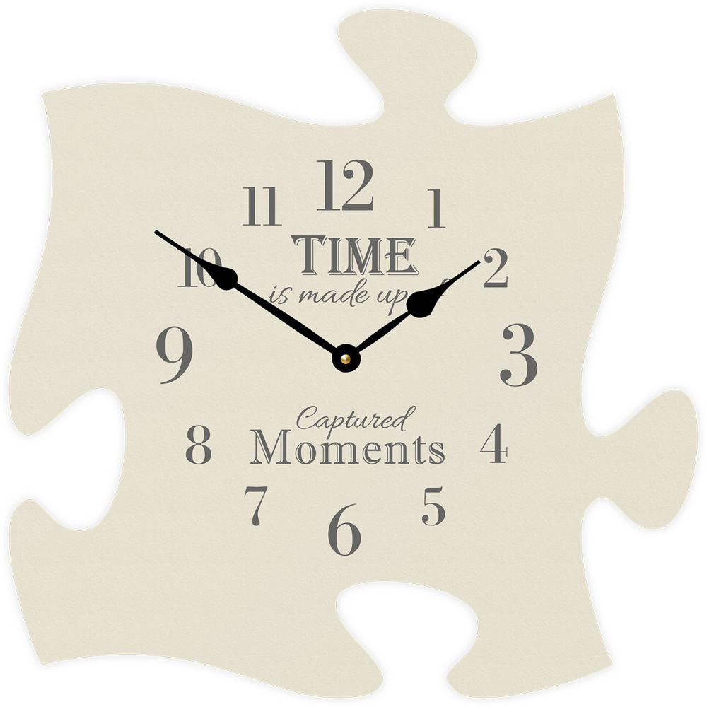 Puzzle Piece Wall Clock