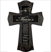 Faith, Hope & Love Cross