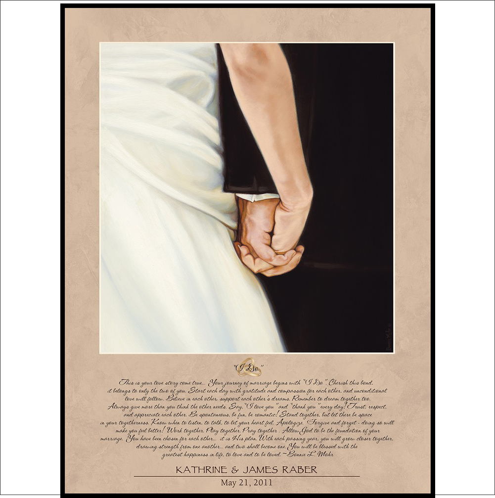 Wedding Lithograph