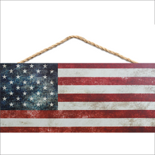Hanging Flag Sign