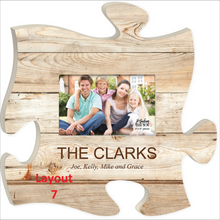 12 ' Puzzle Plaque Photo Frame