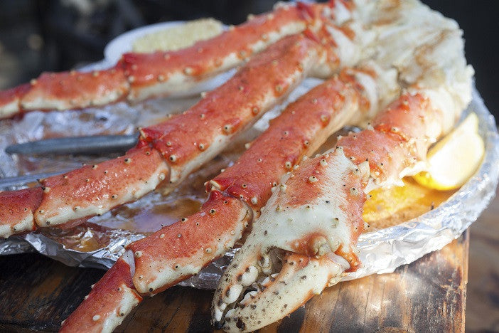 "Alaskan Red King Crab ""Meal for 2"""