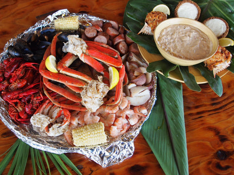 "Captain's Seafood Sampler Platter ""Meal for 2"""