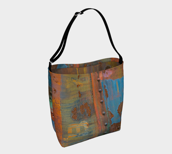 Train Graffiti Multi - Tote Bag