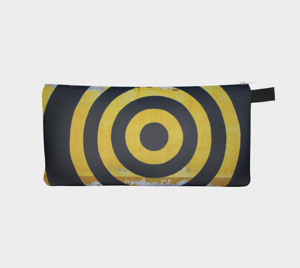 Bullseye Mural Accessory Bag