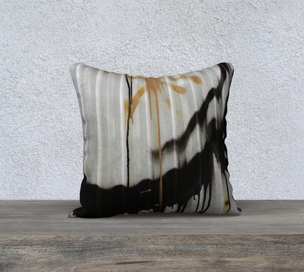 """Corrugated"" Pillow Case (18x18"")"