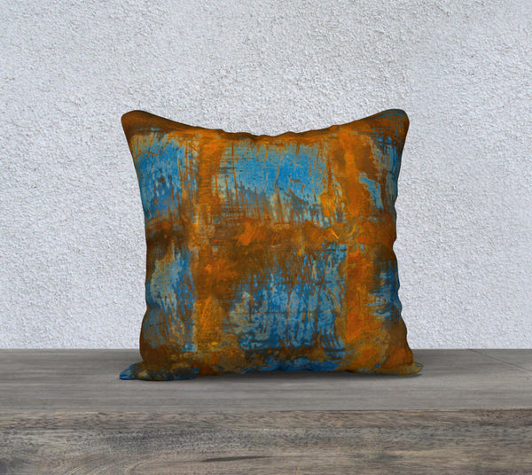 "Wilbur Rust Pillow Case (18x18"")"