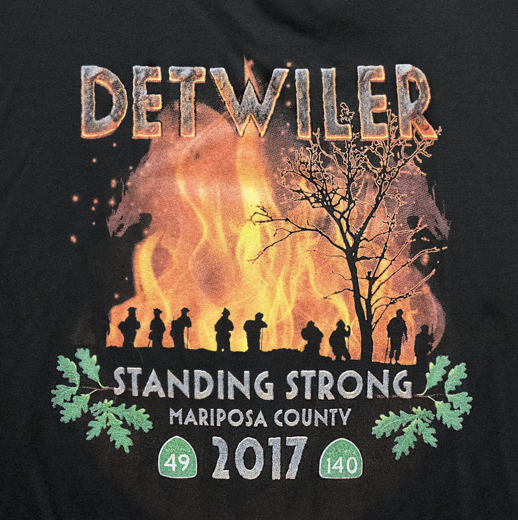 Sponsor a Detwiler Fire Shirt for Those Who Lost Their Homes