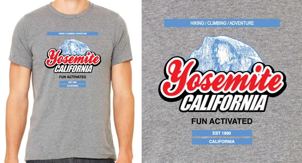 Yosemite Fun Activated | Mens T-Shirt