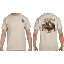 Mens Railroad Fire Unisex T-Shirt