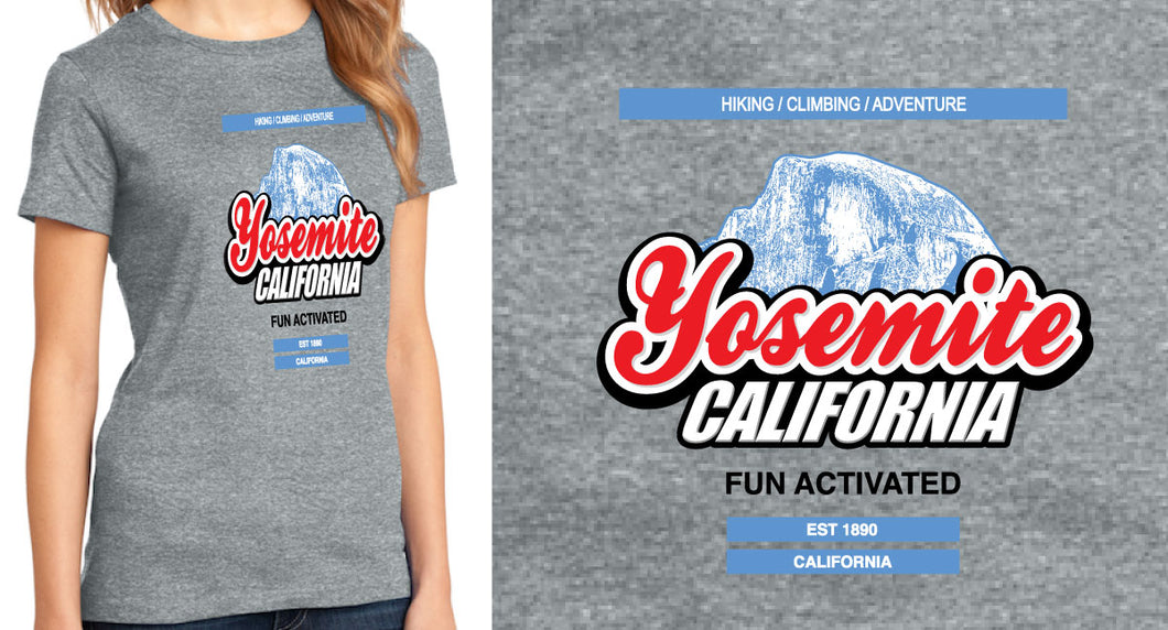 Yosemite Fun Activated | Ladies T-Shirt