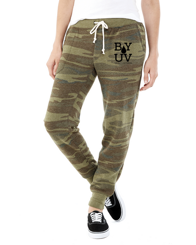 Branded Camo Jogger
