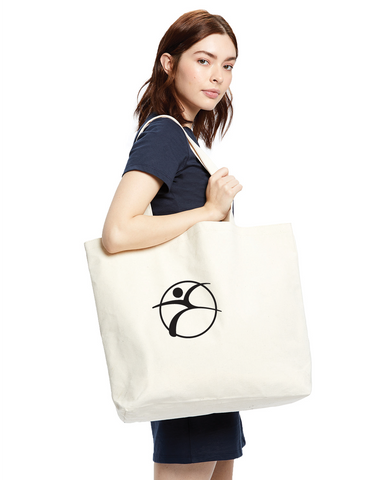 Branded Large Canvas Tote