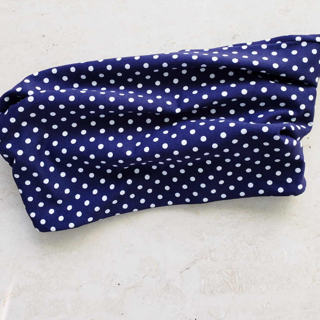 Everywear Tube Top Dottie Navy