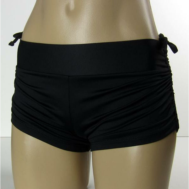 String Shorts Basic Black