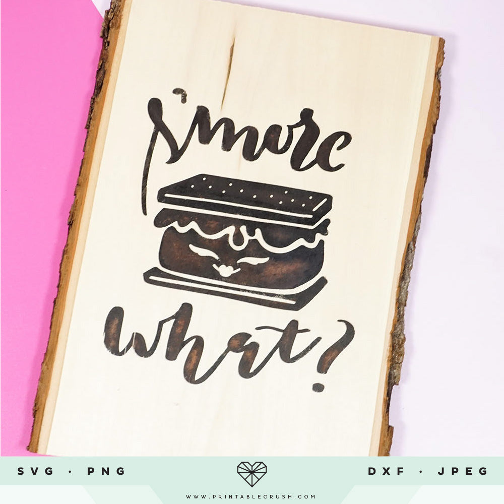 Glamping and S'mores SVG Files