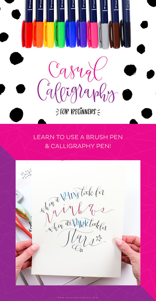 Casual Calligraphy Course
