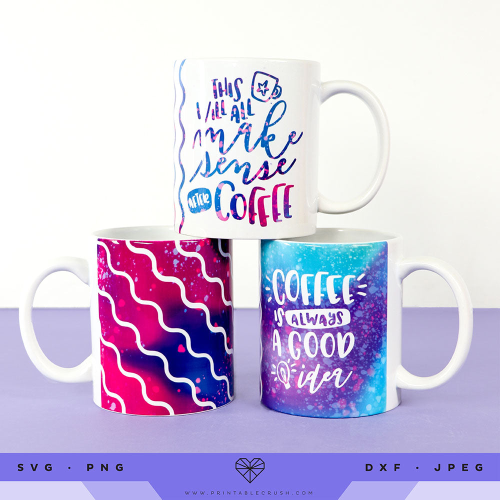 Mug Wrap SVG Files