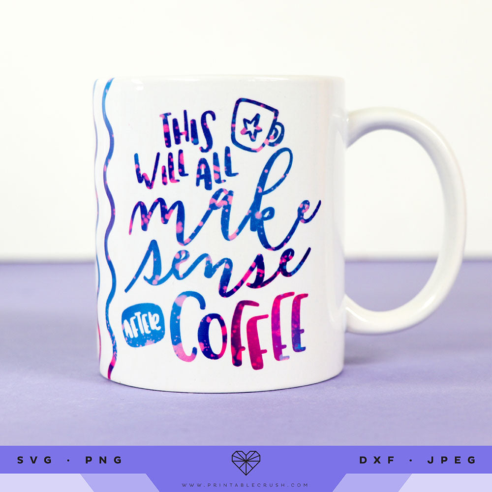 Sarcastic Coffee Quote SVG Files