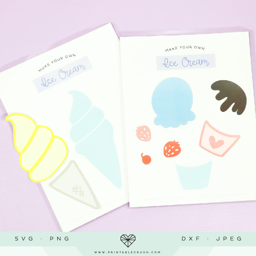 Over 30 Adorable Ice Cream SVG Files
