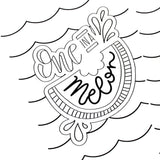 Summer Fun Coloring Pages