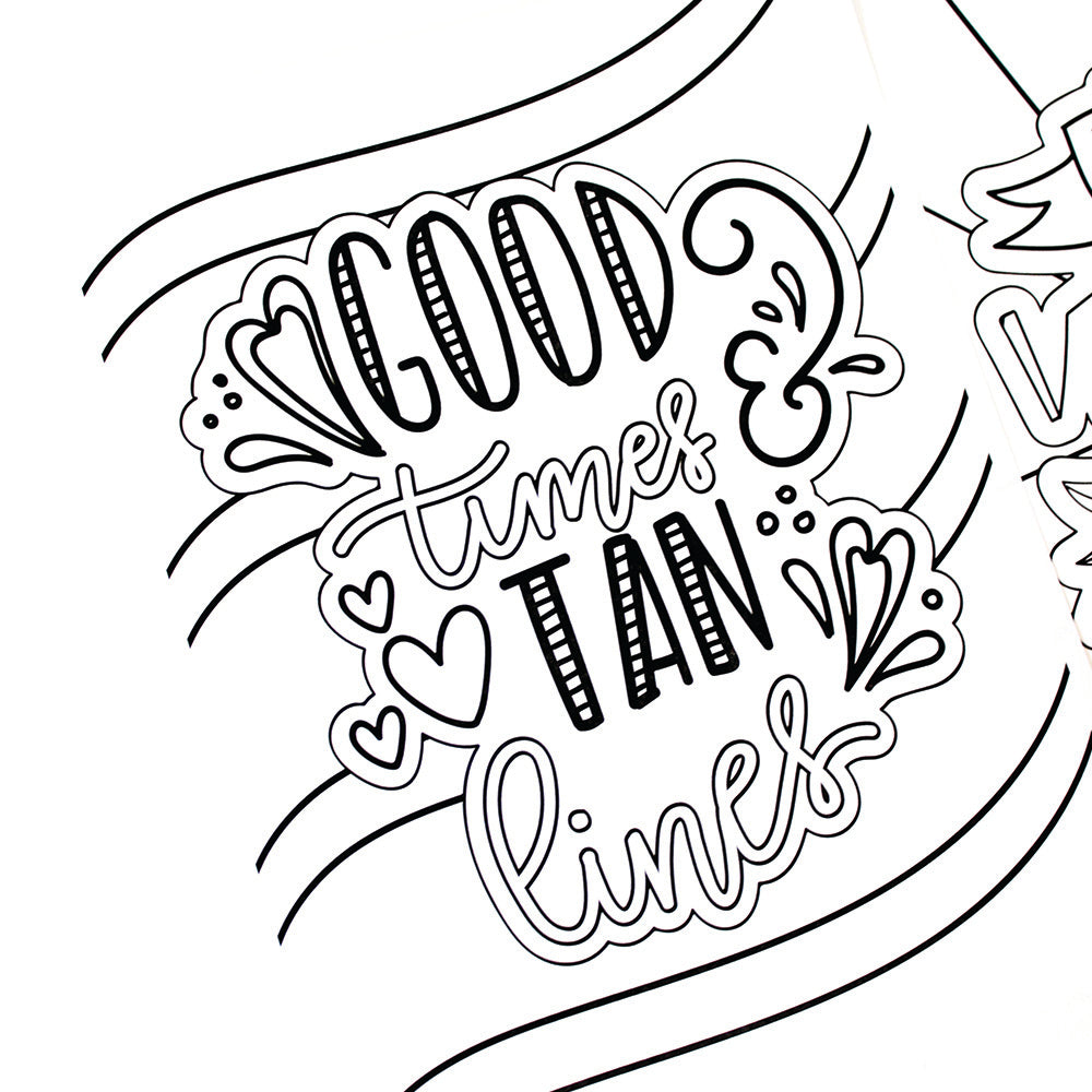 Printable Summer Coloring Sheets - Coloring Home | 1000x1000