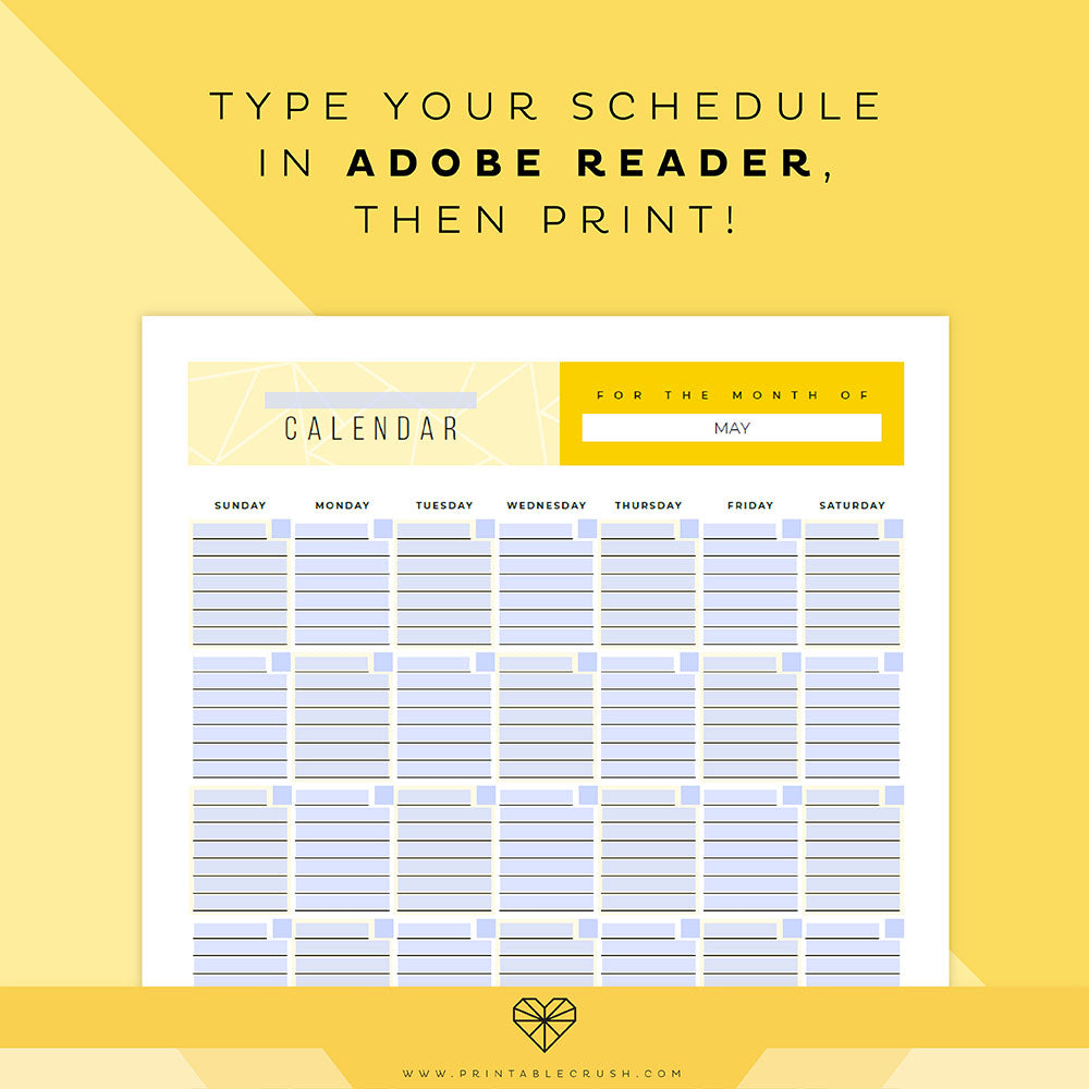 image regarding Printable Perpetual Calendars known as Editable Perpetual Calendar Printable Fastened