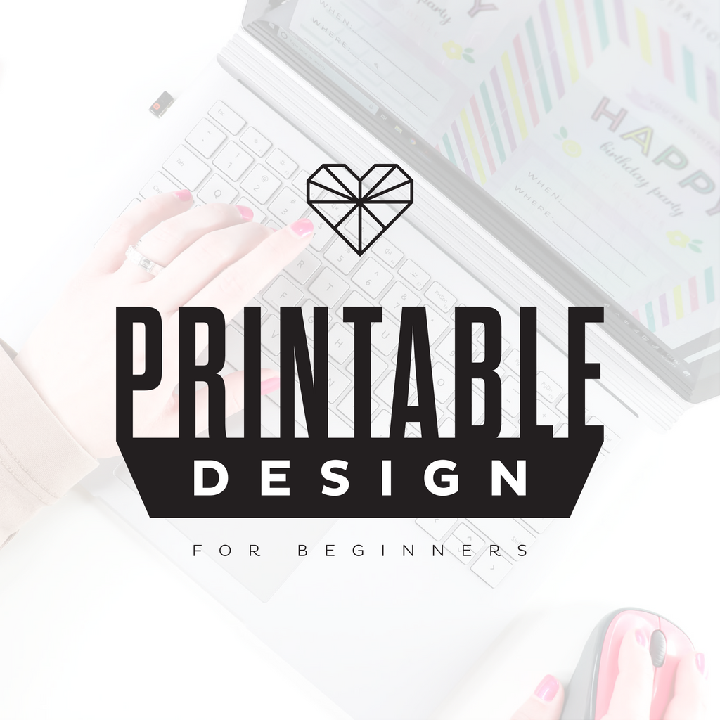 Printable Design for Beginners E-Course