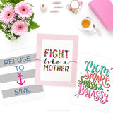 Fight Like a Mother Cancer Charity Word Art Printables