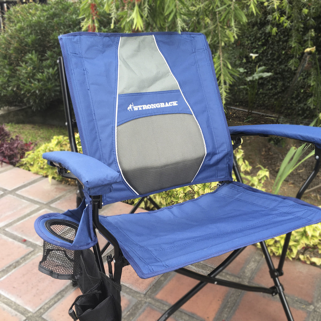 STRONGBACK Elite Navy u0026 Grey : strong back chairs - Cheerinfomania.Com