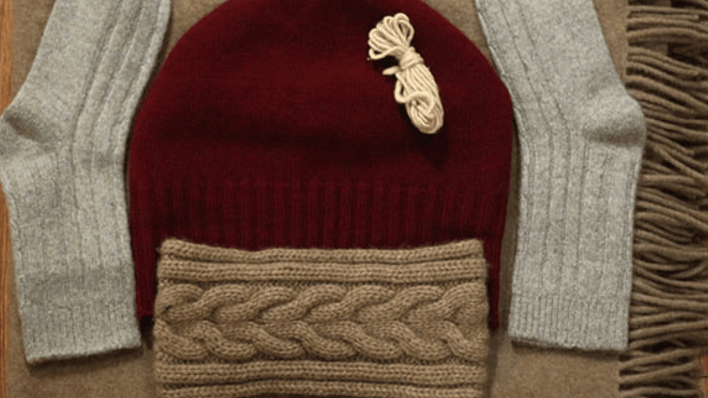 ethical sweater made of mongolian yak