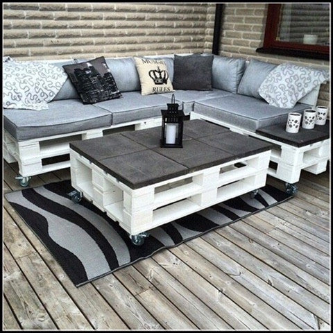 up cycled shipping pallet furniture ideas