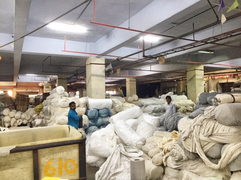 fabric in indian mill