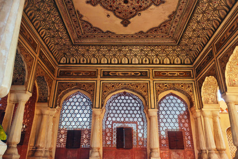 palace room instead the hawa mahal jaipur - photo taken by Melanie DiSalvo