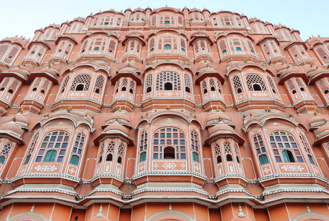 Hawa Mahal Wind Palace Jaipur - photo taken by Melanie DiSalvo