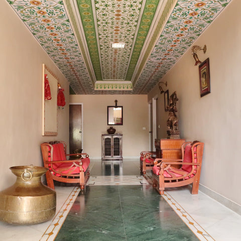 jaipur hotel - photo by Melanie DiSalvo