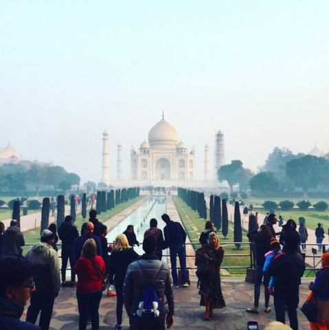 taj mahal taken by Melanie DiSalvo