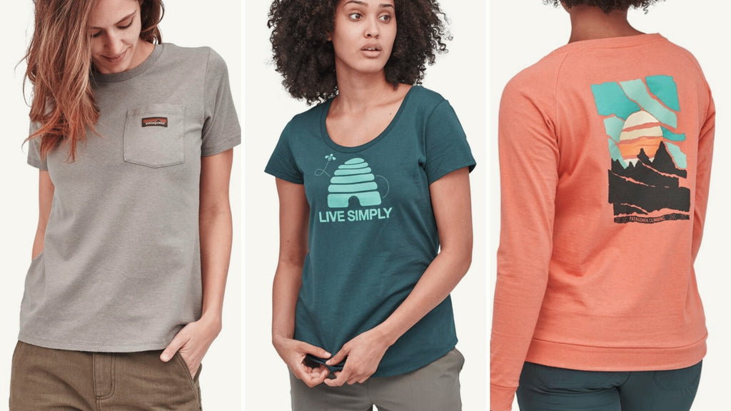 Patagonia sustainable tshirts