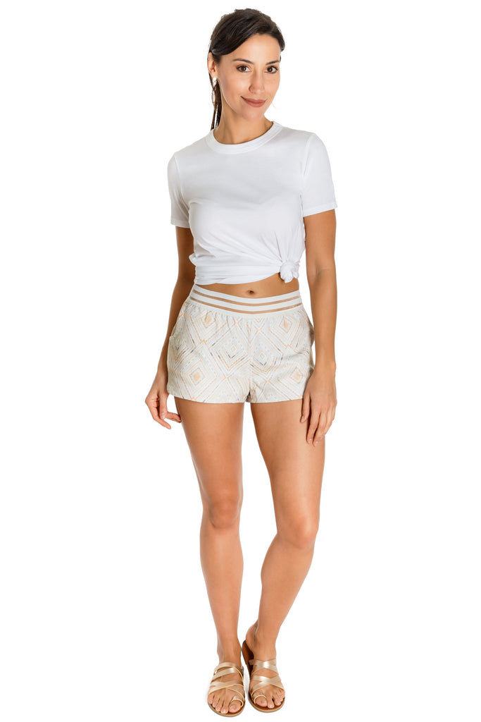 VADA - khadi shorts - Virtue + Vice
