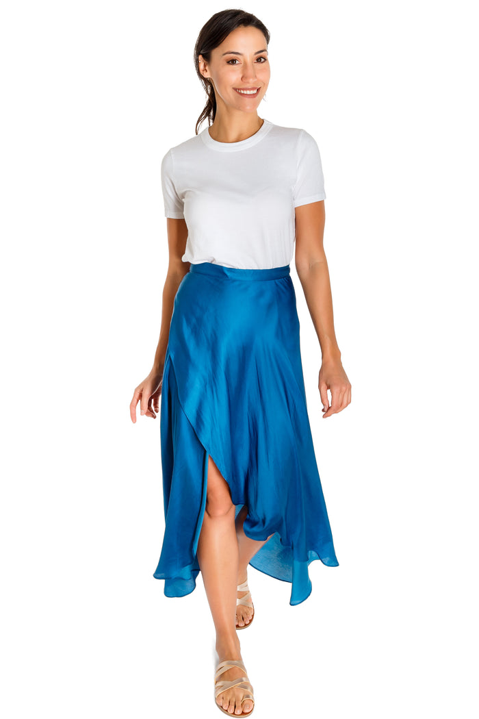 LANEY - modal wrap skirt - Virtue + Vice