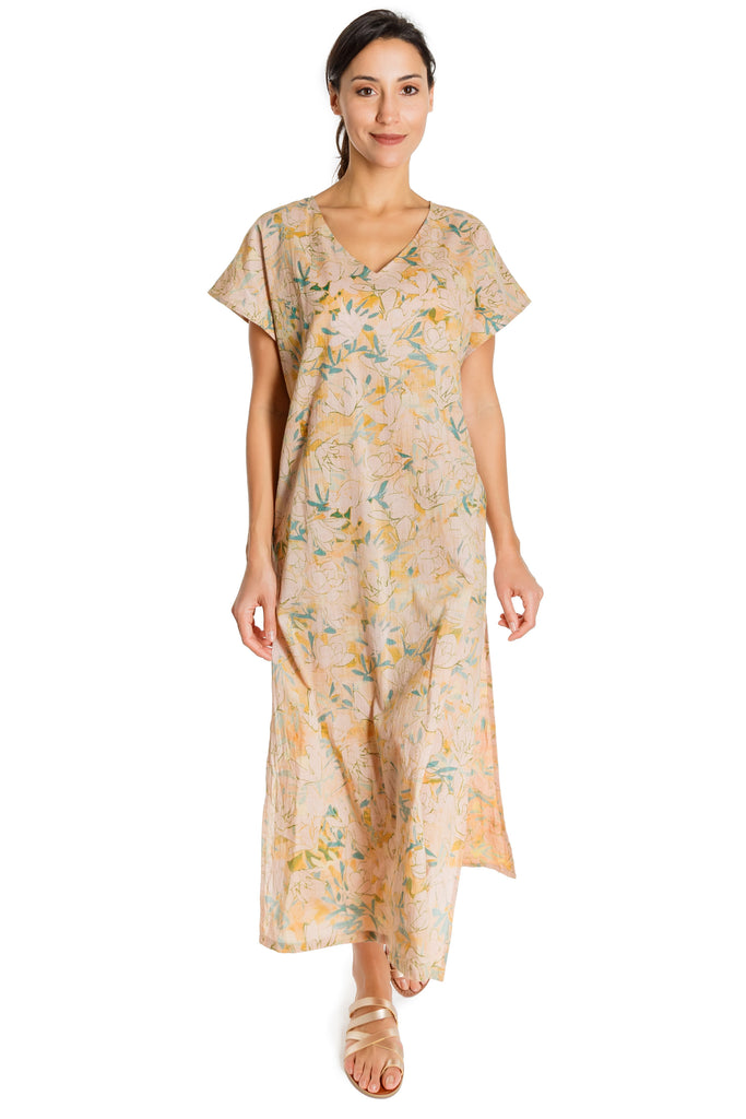 WINNE - organic cotton caftan - Virtue + Vice