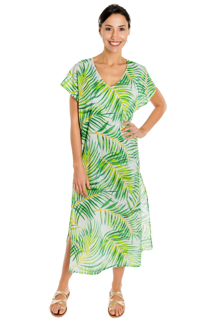 WINNIE - organic cotton caftan - Virtue + Vice